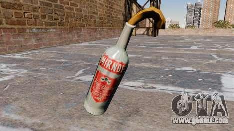 Molotov Cocktail-Smirnoff- for GTA 4