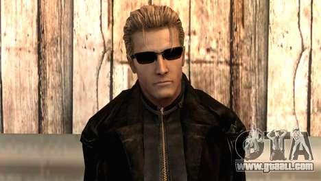 Albert Wesker in the cloak for GTA San Andreas third screenshot