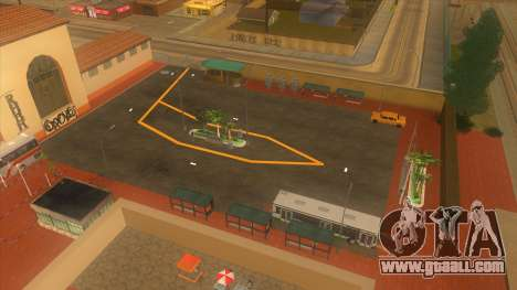 Bus station, Los Santos for GTA San Andreas seventh screenshot