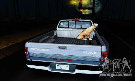Dodge Ram 3500 for GTA San Andreas inner view