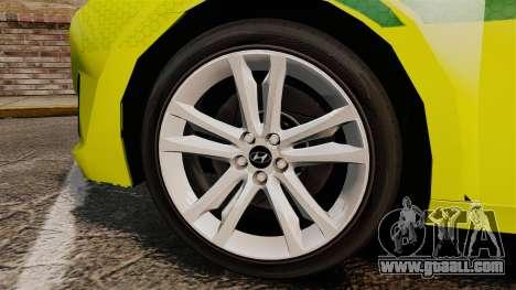 Hyundai i40 Tourer [ELS] London Ambulance for GTA 4 back view