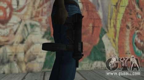 MP5 from Fallout New Vegas for GTA San Andreas third screenshot