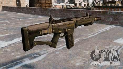 Assault rifle SCAR for GTA 4 second screenshot