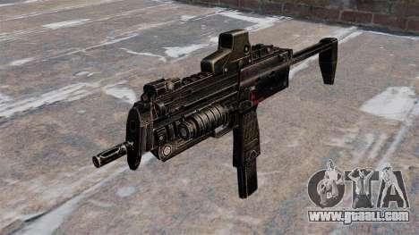 MP7 submachine gun for GTA 4