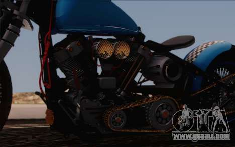 Harley-Davidson Knucklehead for GTA San Andreas inner view