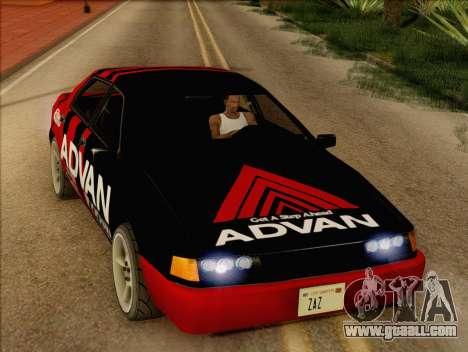 Stratum Sedan Sport for GTA San Andreas right view