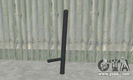 Baton of GTA V for GTA San Andreas