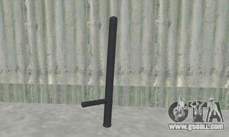 Baton of GTA V for GTA San Andreas