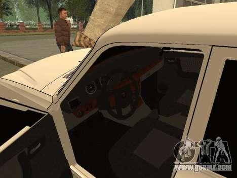 GAZ 31105 for GTA San Andreas back view