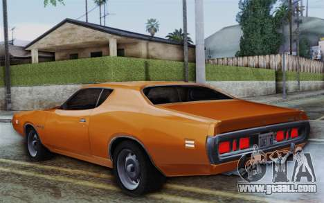 Dodge Charger 1971 Super Bee for GTA San Andreas left view