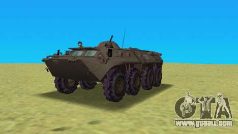 BTR-80 for GTA Vice City left view