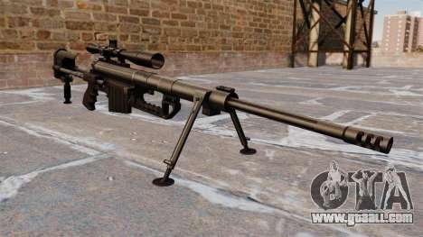 Sniper rifle CheyTac Intervention for GTA 4