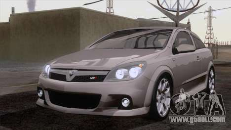 Vauxhall Astra VXR  2007 for GTA San Andreas inner view