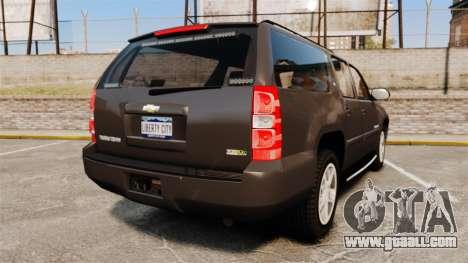 Chevrolet Suburban Slicktop 2008 [ELS] for GTA 4 back left view