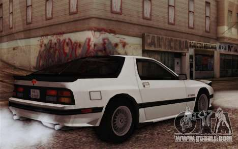 Mazda RX-7 for GTA San Andreas left view