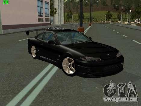Nissan Silvia S15 Tuning for GTA San Andreas