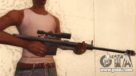 Barrett from Call of Duty MW2 for GTA San Andreas third screenshot