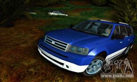 Landstalker GTA IV for GTA San Andreas