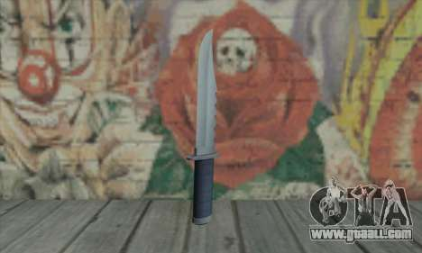 Knife of GTA V for GTA San Andreas