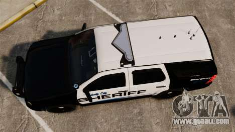 Chevrolet Tahoe 2008 Federal Signal Valor [ELS] for GTA 4 right view