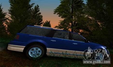 Landstalker GTA IV for GTA San Andreas left view