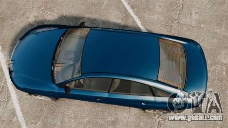 GTA V Tailgater (Michael Car) for GTA 4 right view