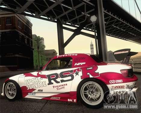Honda S2000 RS-R for GTA San Andreas interior