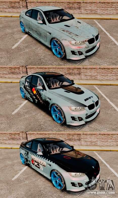 BMW M3 GTS Widebody for GTA 4 engine