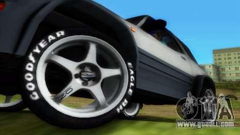 Toyota RAV 4 L 94 Fun Cruiser for GTA Vice City interior