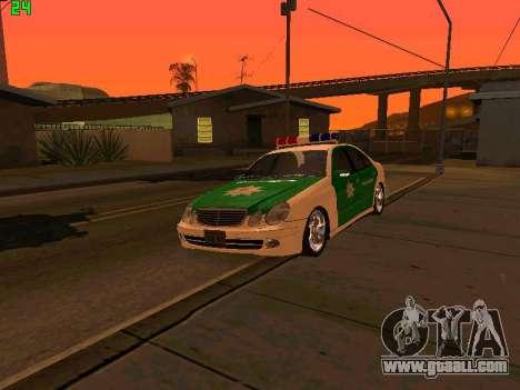 Mercedes-Benz  E500 Polizei for GTA San Andreas