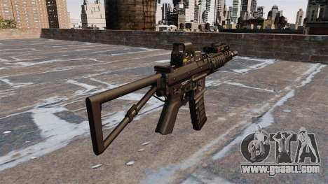 Automatic carbine KAC PDW for GTA 4 second screenshot