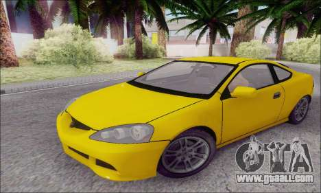 Acura RSX for GTA San Andreas left view