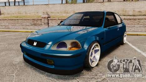 Honda Civic EK for GTA 4