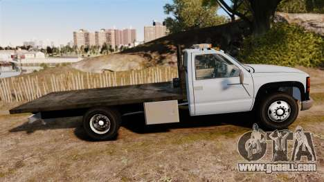 GMC Flatbed [ELS] for GTA 4 left view