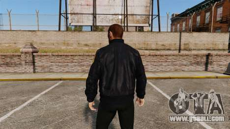 Police jacket for GTA 4 second screenshot