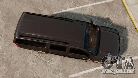 Chevrolet Suburban Slicktop 2008 [ELS] for GTA 4 right view