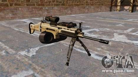 Assault machine FN SCAR-L C-Mag for GTA 4
