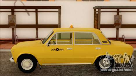 VAZ 21011 Taxi for GTA San Andreas back left view