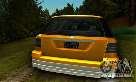 Landstalker GTA IV for GTA San Andreas right view