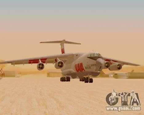 Il-76td IlAvia for GTA San Andreas