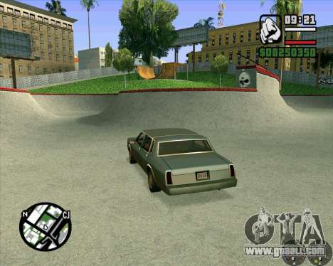 New HD Skate Park for GTA San Andreas sixth screenshot