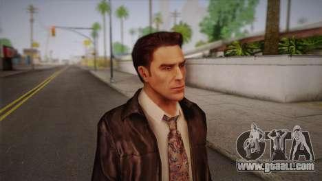 Max Payne Skin for GTA San Andreas third screenshot