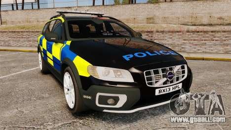 Volvo XC70 Police [ELS] for GTA 4
