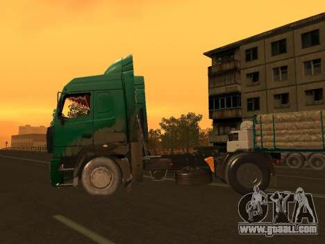 MAZ 5440 for GTA San Andreas left view