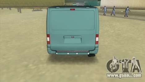 Ford Transit Sportback 2011 for GTA Vice City back left view