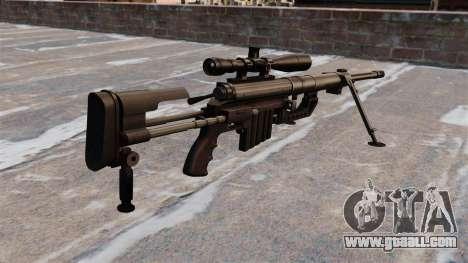 Sniper rifle CheyTac Intervention for GTA 4 second screenshot