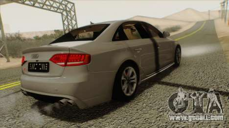 Audi S4 for GTA San Andreas left view