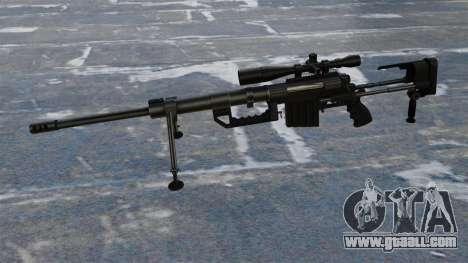 Sniper rifle CheyTac Intervention for GTA 4 third screenshot