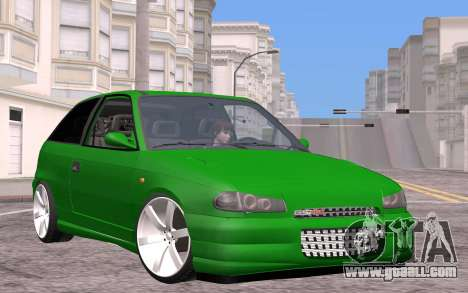 Opel Astra GSI Tuning for GTA San Andreas