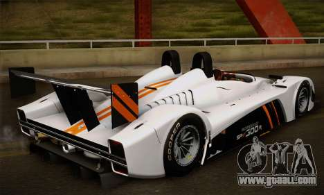 Caterham-Lola SP300.R for GTA San Andreas back view